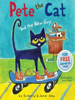 cover image of Pete the Cat and the New Guy