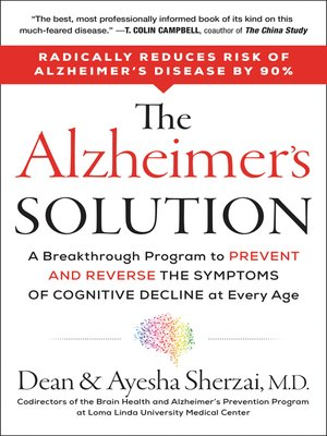 cover image of The Alzheimer's Solution