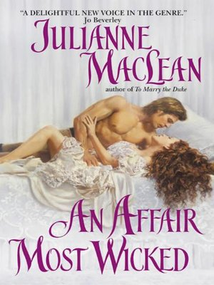 cover image of An Affair Most Wicked