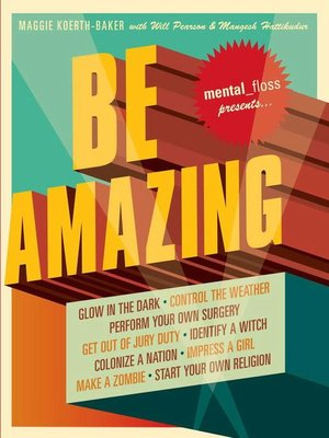 cover image of Mental Floss: Be Amazing