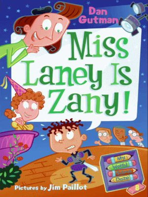 cover image of Miss Laney Is Zany!