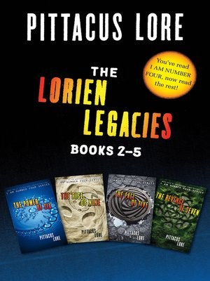 cover image of The Lorien Legacies Collection