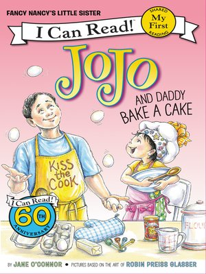 cover image of JoJo and Daddy Bake a Cake