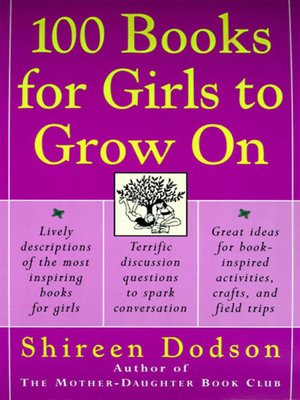 cover image of 100 Books for Girls to Grow On