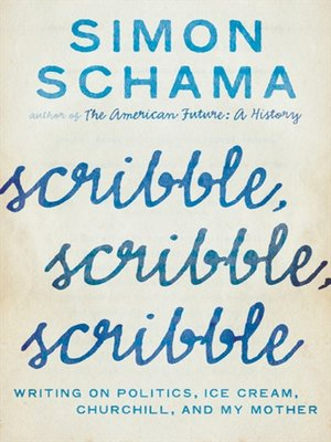 cover image of Scribble, Scribble, Scribble
