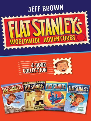 cover image of Flat Stanley's Worldwide Adventures 4-Book Collection