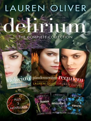 cover image of Delirium