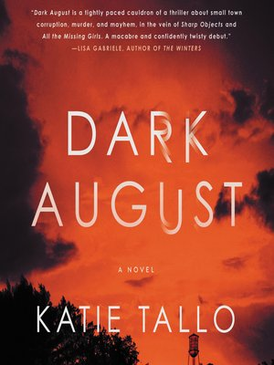 cover image of Dark August