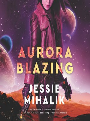 cover image of Aurora Blazing