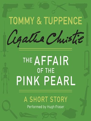cover image of The Affair of the Pink Pearl