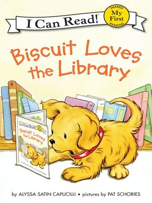 cover image of Biscuit Loves the Library