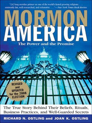 cover image of Mormon America - Revised and Updated Edition