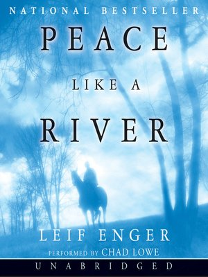 cover image of Peace Like a River
