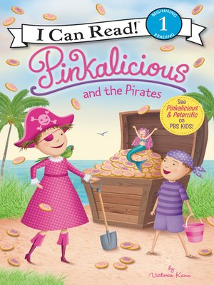 cover image of Pinkalicious and the Pirates