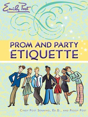 cover image of Prom and Party Etiquette