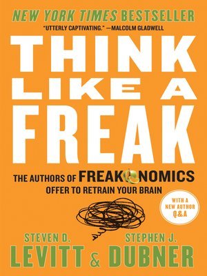 cover image of Think Like a Freak