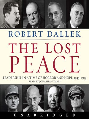 cover image of The Lost Peace