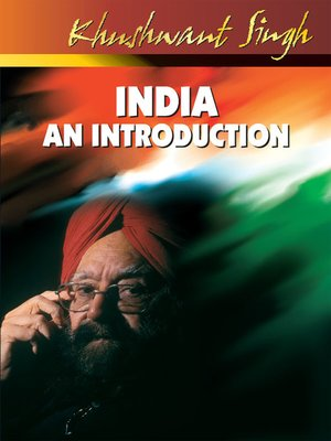 cover image of India an Introduction