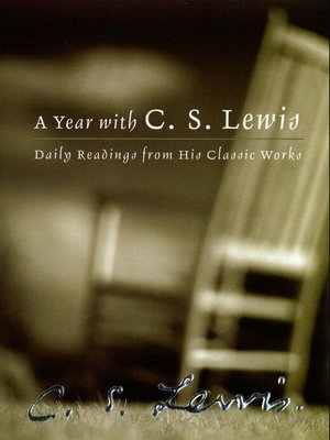 cover image of A Year with C.S. Lewis