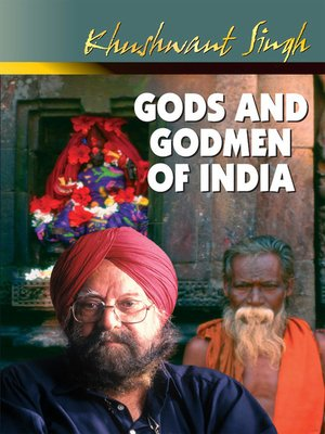 cover image of Gods and Godmen of India