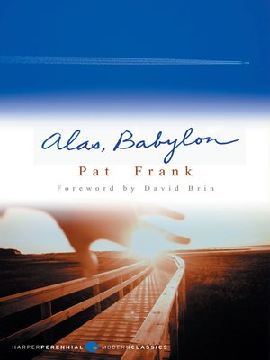 cover image of Alas, Babylon