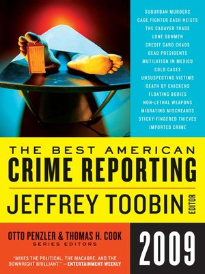 cover image of The Best American Crime Reporting 2009