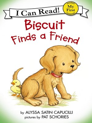 cover image of Biscuit Finds a Friend