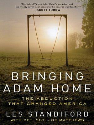 cover image of Bringing Adam Home