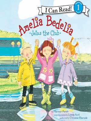 cover image of Amelia Bedelia Joins the Club