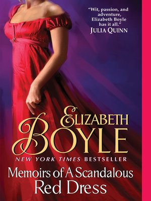 cover image of Memoirs of a Scandalous Red Dress