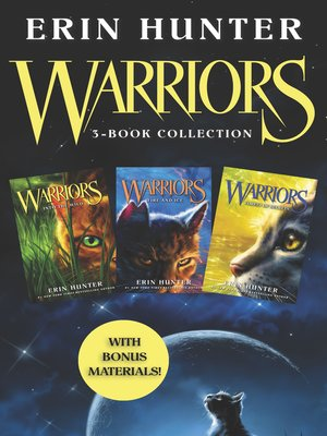 cover image of Warriors 3-Book Bundle with Bonus Material