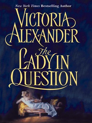 cover image of The Lady in Question