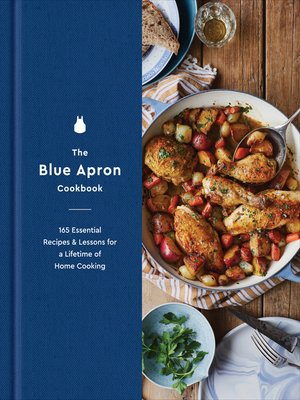 cover image of The Blue Apron Cookbook