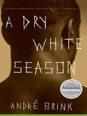 cover image of A Dry White Season