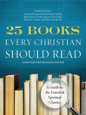 cover image of 25 Books Every Christian Should Read