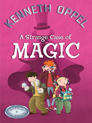 cover image of A Strange Case of Magic