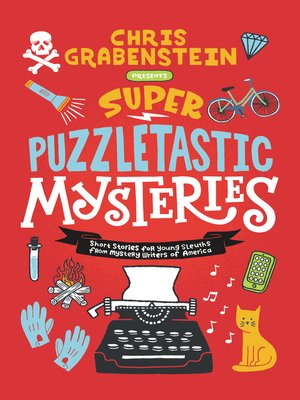 cover image of Super Puzzletastic Mysteries