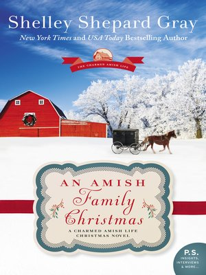 cover image of An Amish Family Christmas