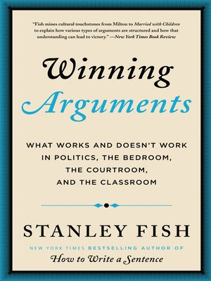 cover image of Winning Arguments