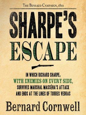 cover image of Sharpe's Escape