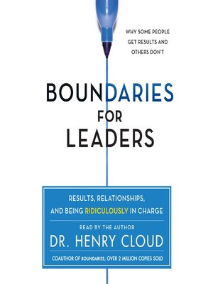 cover image of Boundaries for Leaders