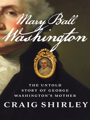 cover image of Mary Ball Washington