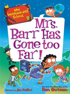 cover image of Mrs. Barr Has Gone Too Far!