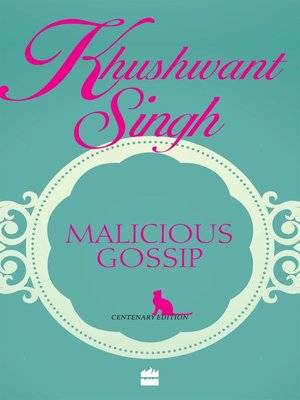 cover image of Malicious Gossip