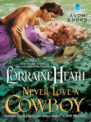 cover image of Never Love a Cowboy