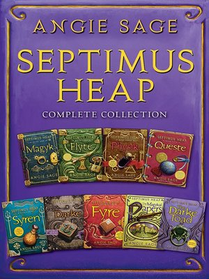 cover image of Septimus Heap Complete Collection