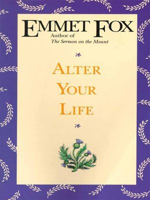 cover image of Alter Your Life