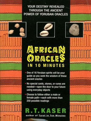 cover image of African Oracles in 10 Minutes