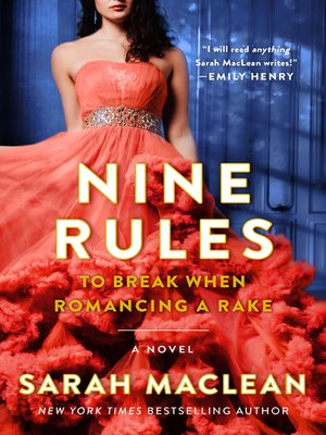 cover image of Nine Rules to Break When Romancing a Rake