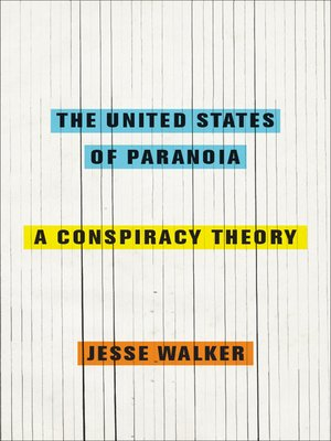 cover image of The United States of Paranoia